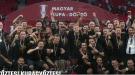 """""""Гонвед"""" в восьмой раз в истории выиграл Кубок Венгрии - финал прошел со зрителями"""