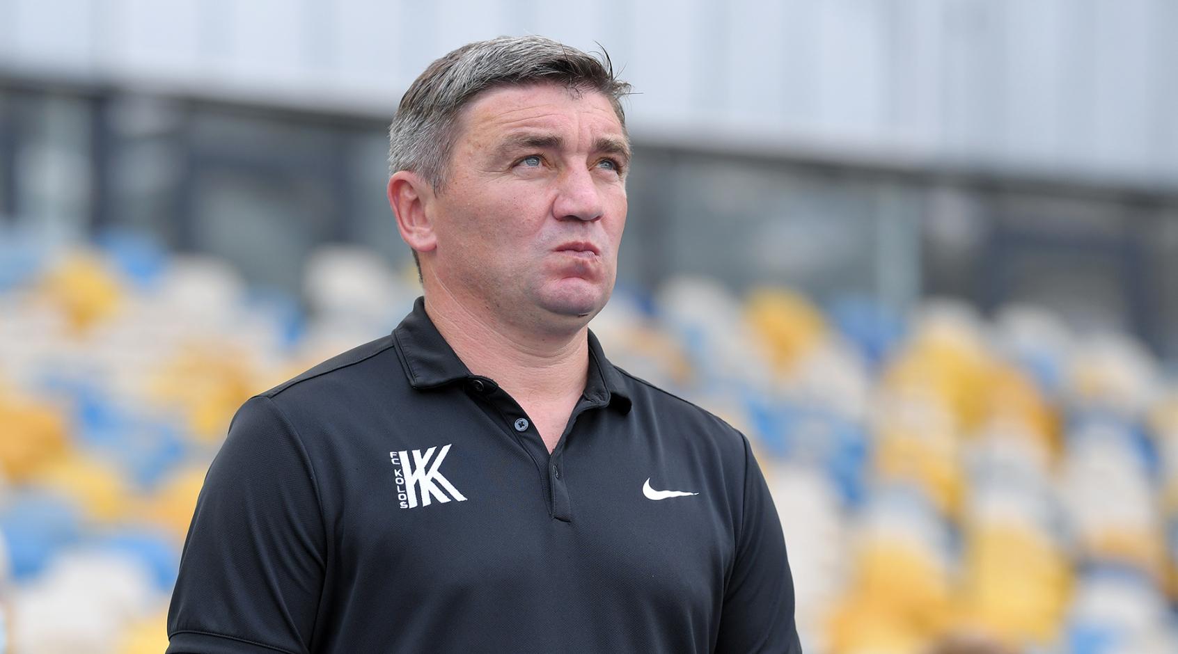 """Руслан Костишин: """"Новина про перехід Громова у """"Колос"""" - це фейк, але я хотів би бачити його у команді"""""""
