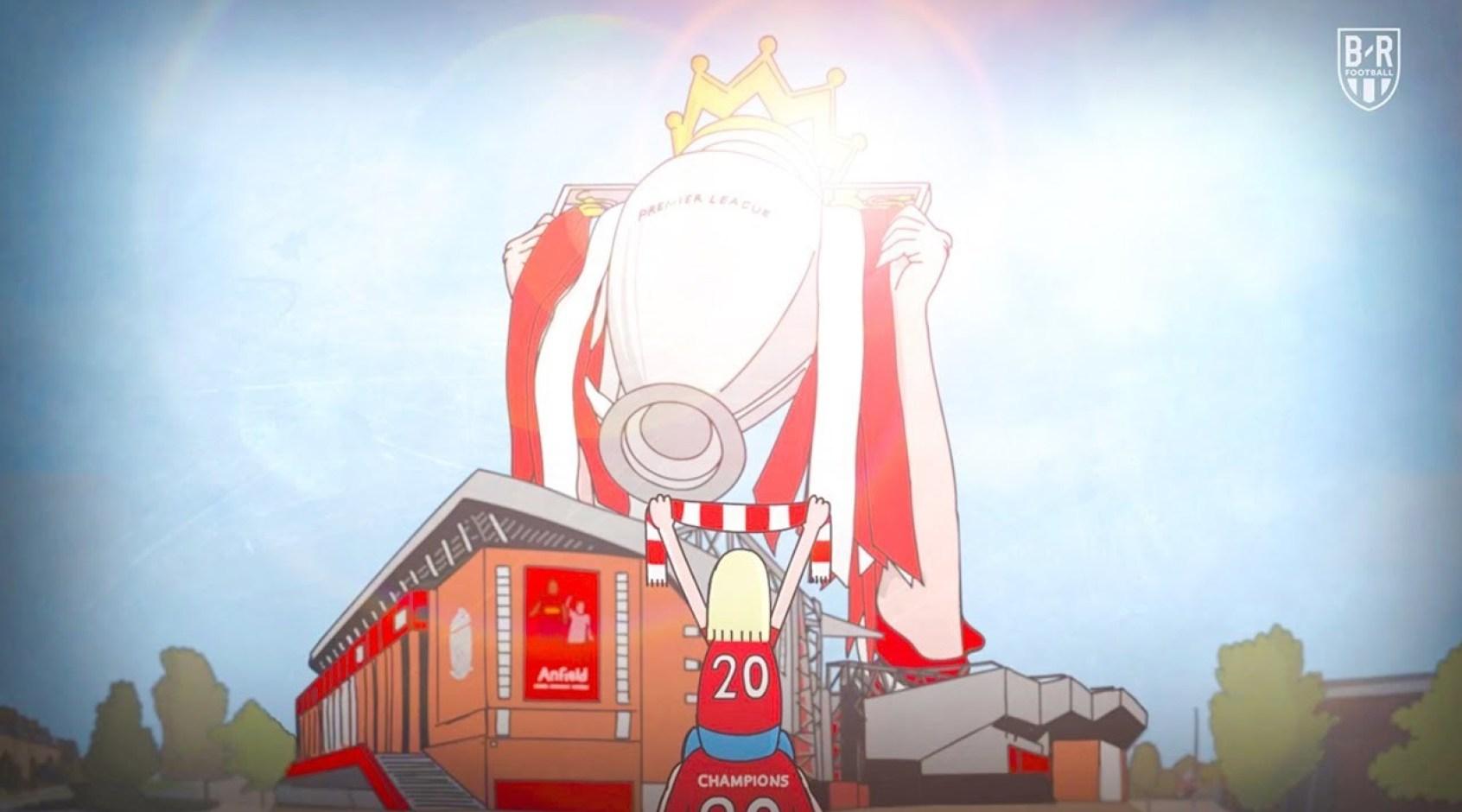 """Долгий путь к титулу: очень трогательный ролик в честь чемпионства """"Ливерпуля"""" (Видео)"""