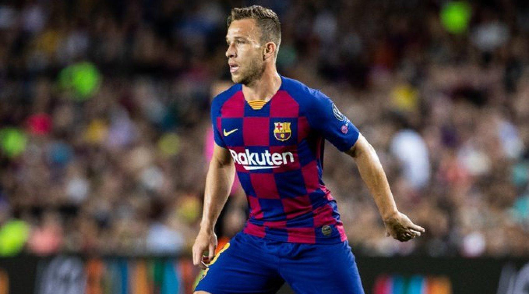 """Официально: """"Барселона"""" объявила о трансфере Артура в """"Ювентус"""""""