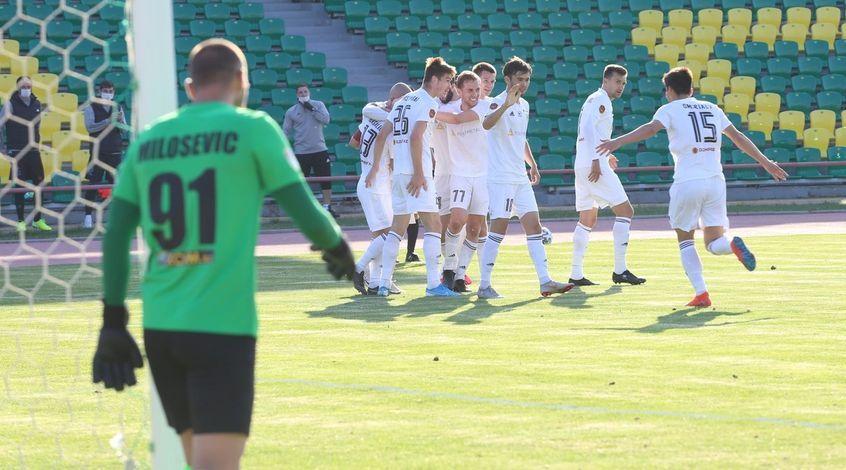 """Тобол"" – ""Каспий"" 2:0. Опыт и класс"
