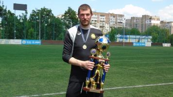 Денис Толебаєв - найкращий футболіст червня у чемпіонаті Київської області