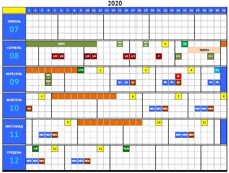 Стал известен план-календарь на сезон-2020/21 (Фото) - изображение 1
