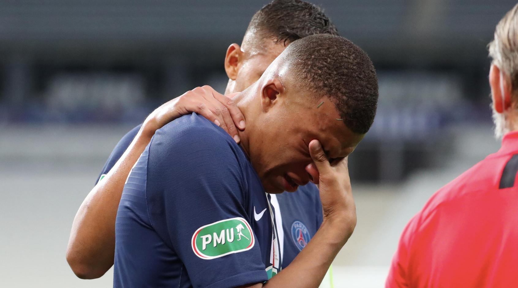 Кильян Мбаппе продлил свою неудачную серию в Лиге чемпионов за ПСЖ