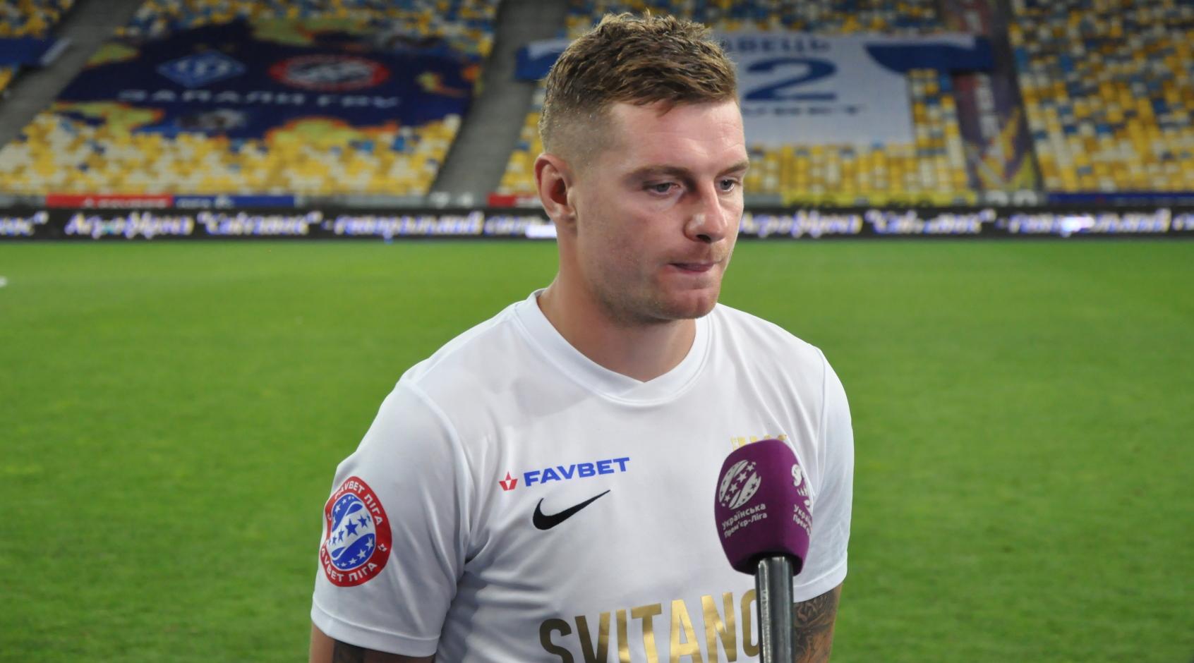 Володимир Лисенко - найкращий гравець 2-го туру Favbet Ліги