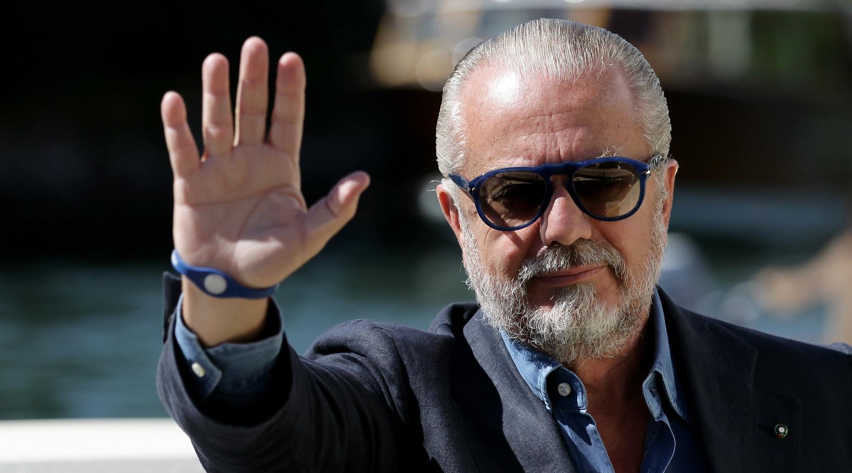 """Аурелио Де Лаурентис: """"Надеюсь, ничего не случится в Барселоне, иначе я раскрою ад"""""""