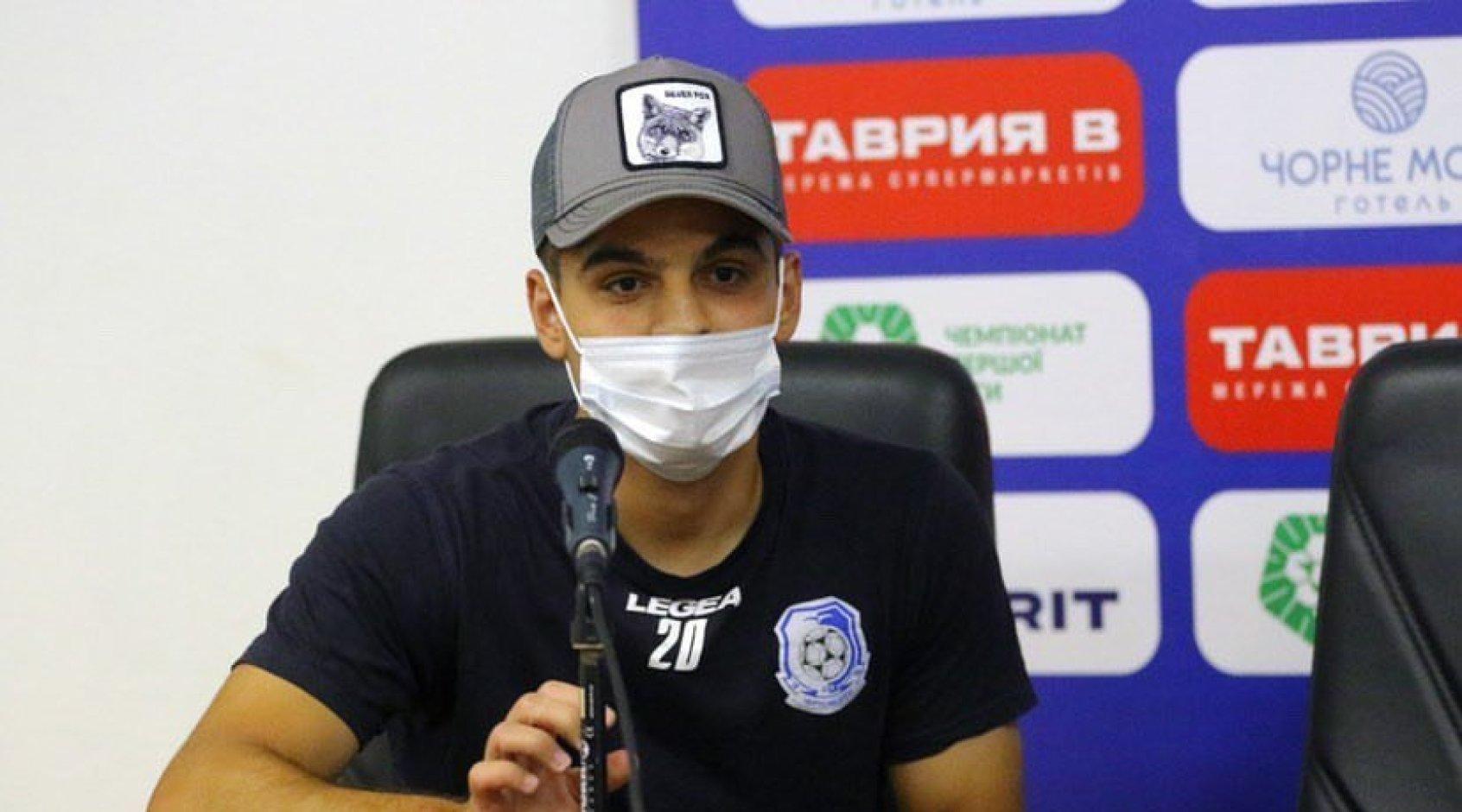 """Артур Авагимян: """"Солнце, песок, девочки - это мне не нужно. Приехал в """"Черноморец"""", чтобы играть в футбол"""""""