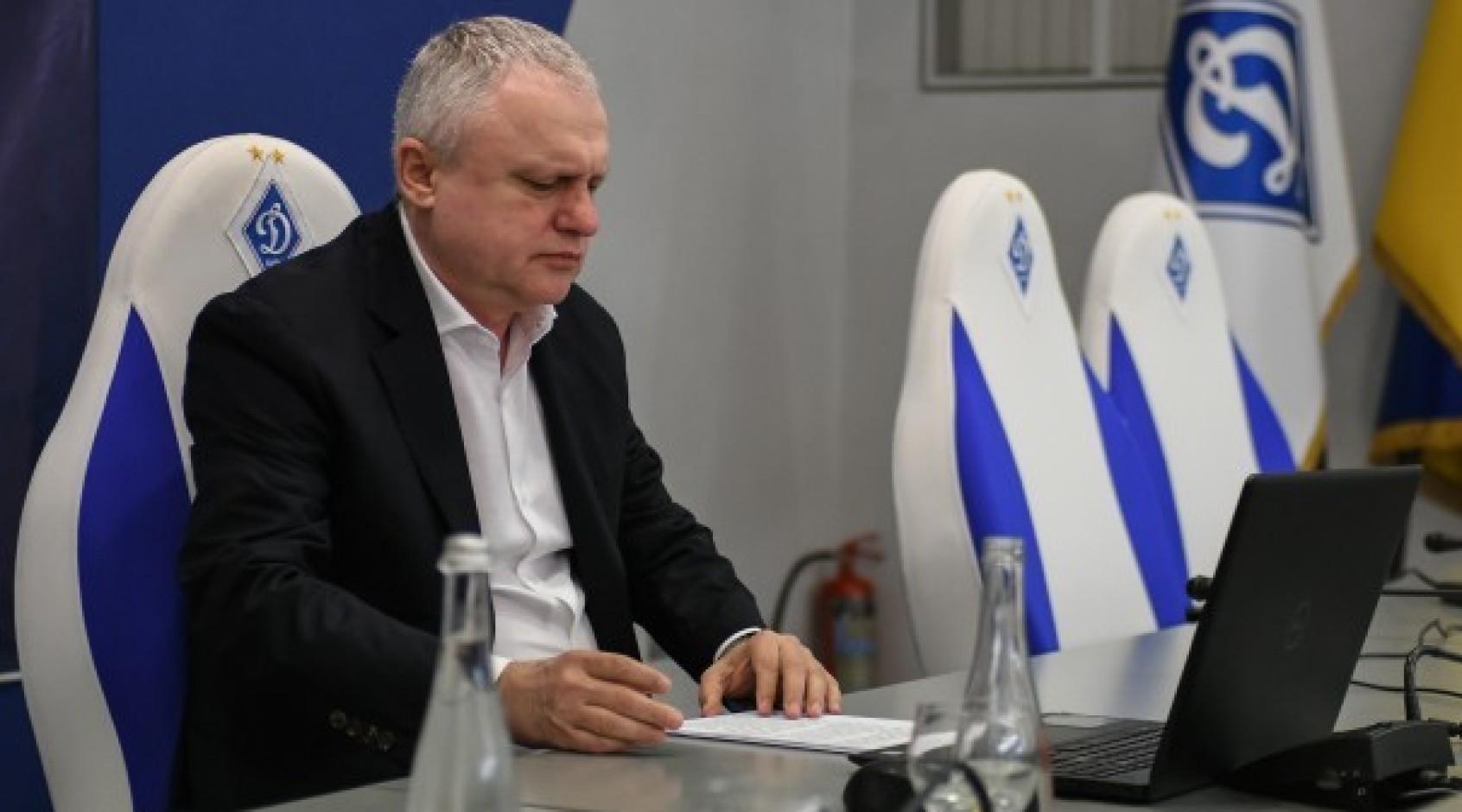 """Игорь Суркис: """"Меня хотят обвинить, что я хотел насолить """"Шахтеру"""" или, что Луческу хорошо знает """"Шахтер"""""""