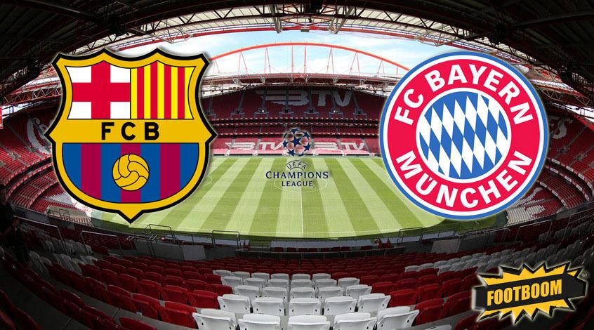 Барселона -  Бавария: где и когда смотреть матч онлайн?