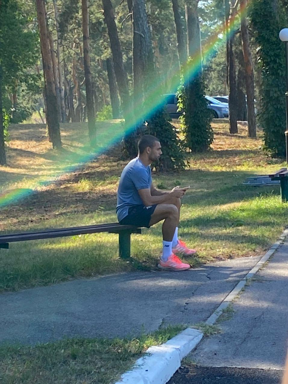 """Потенциальный новичок """"Динамо"""", бразильский вингер Клейтон посетил базу киевлян (Фото) - изображение 1"""