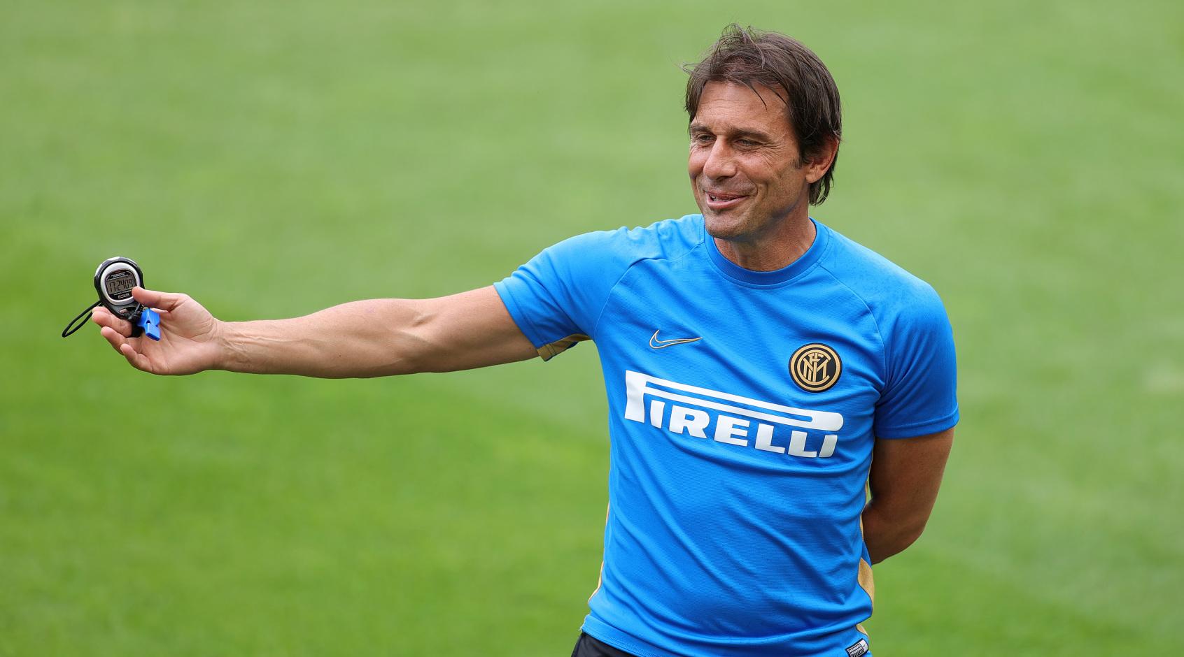 """Антонио Конте: """"Чтобы выйти из группы Лиги чемпионов, """"Интеру"""" нужно набрать по меньшей мере семь очков"""""""