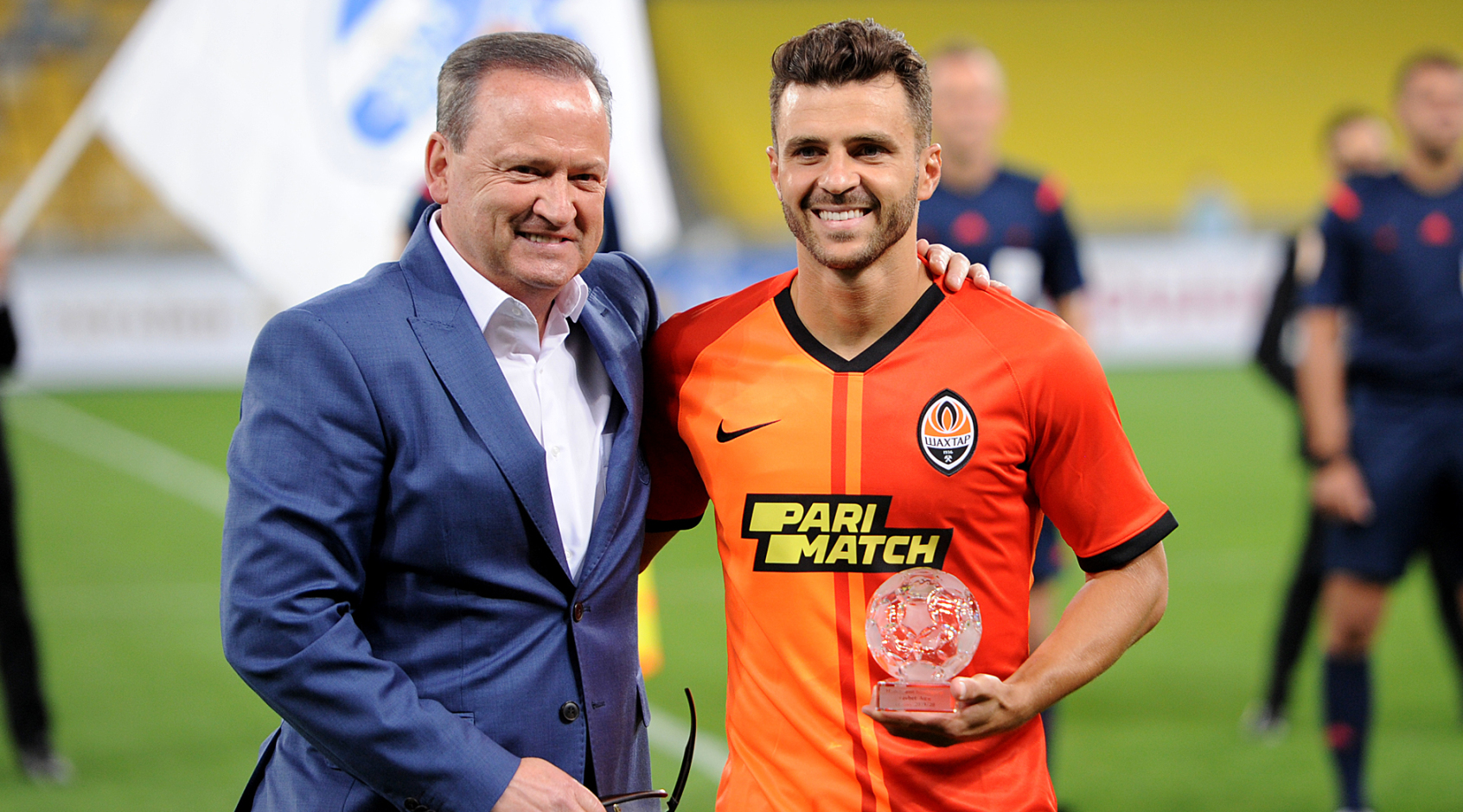 Жуниор Мораес получил награду лучшему бомбардиру Favbet лиги сезона 2019/2020