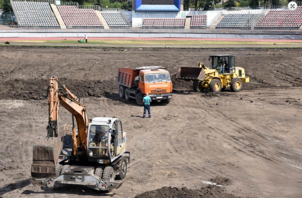 В Мариуполе идет реконструкция стадиона имени В. С. Бойко - изображение 1