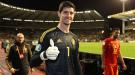 Тест Куртуа на коронавирус показал положительный результат, но он останется в сборной Бельгии