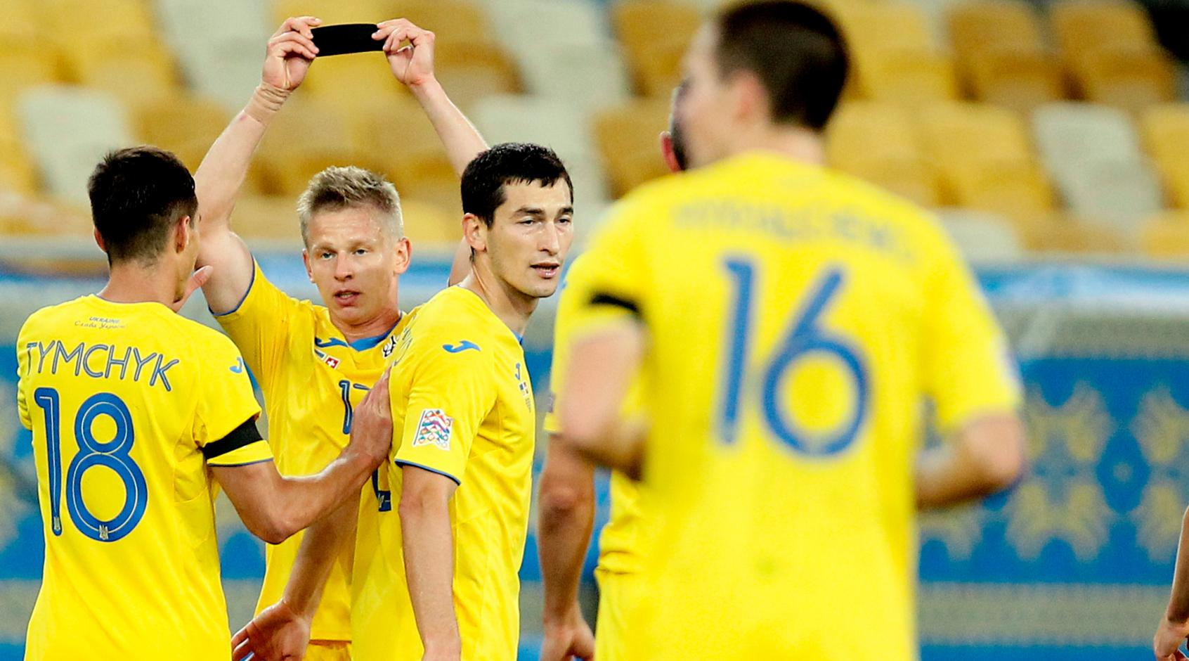 Украина - Швейцария 2:1. Памяти Дока