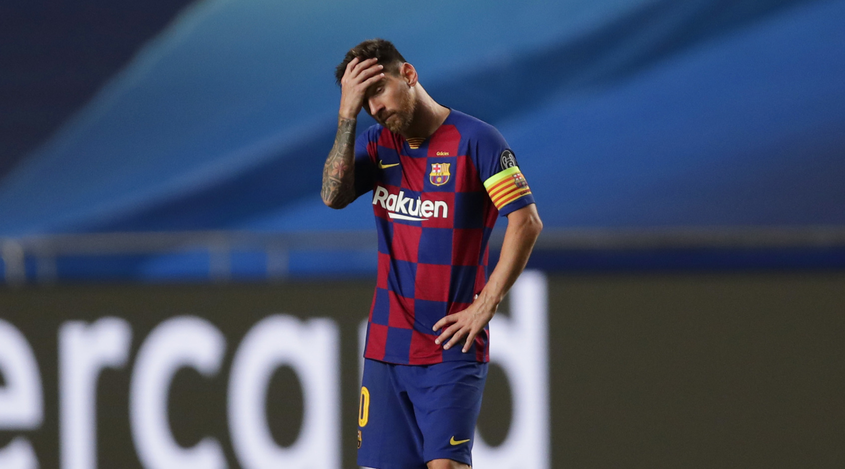 Месси забил один гол со штрафного за последние 45 попыток