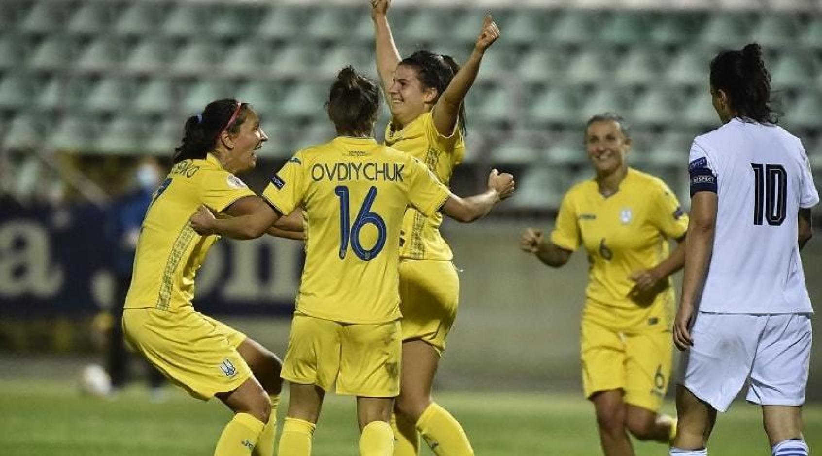 Євро-2022. Жіноча збірна України розгромила Грецію