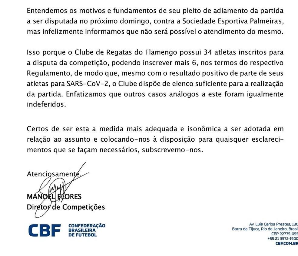 """16 игроков """"Фламенго"""" заразились коронавирусом, но клубу отказали в переносе матча с """"Палмейрасом"""" - изображение 1"""