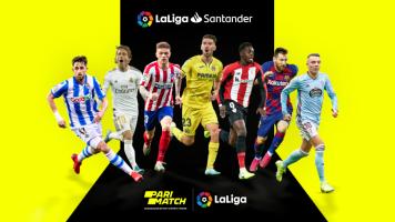 Parimatch — официальный беттинг партнер La Liga в Украине