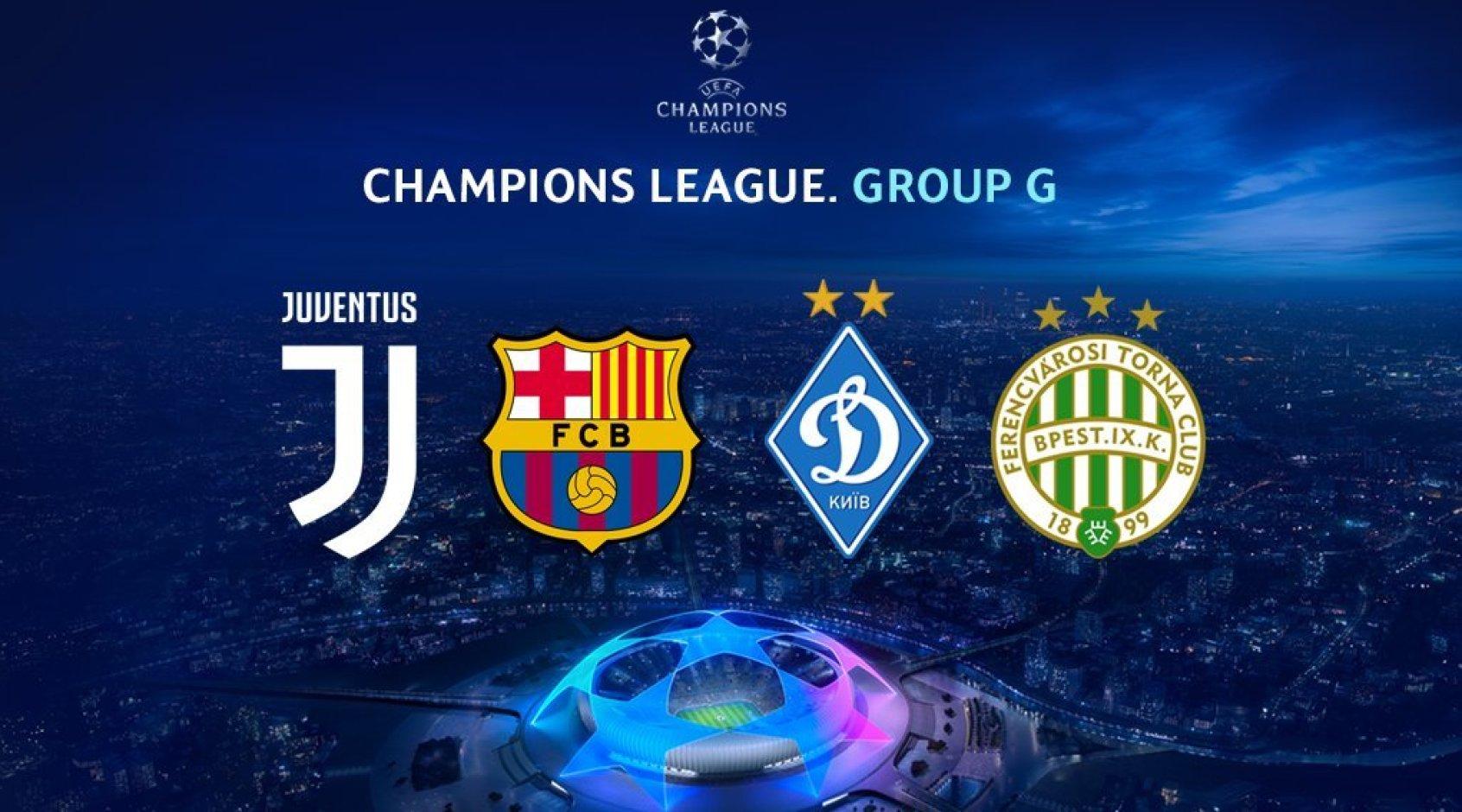 Ekspress Predstavlenie Budushih Sopernikov Dinamo Po Gruppovomu Etapu Ligi Chempionov Yuventus Barselona I Ferencvarosh Footboom