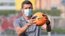 Сергей Кривцов поиграл в футбол с детьми с особенностями развития (Фото)