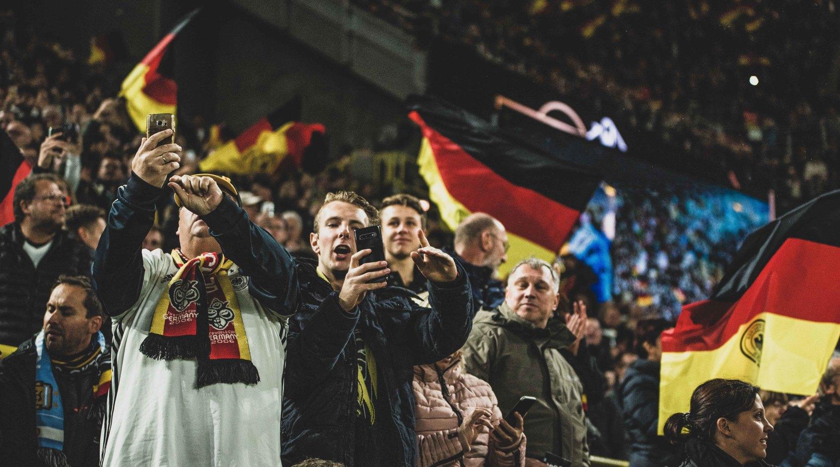 """Немецкие болельщики: """"Хочется как можно скорее забыть матч с Украиной"""""""