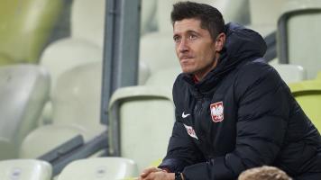 Роберта Левандовски впервые за 5 лет заменили в официальном матче сборной Польши