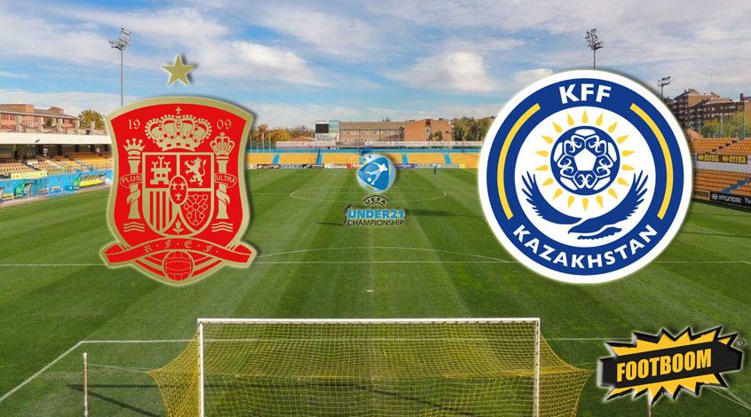 Испания (U-21) – Казахстан (U-21): стартовые составы