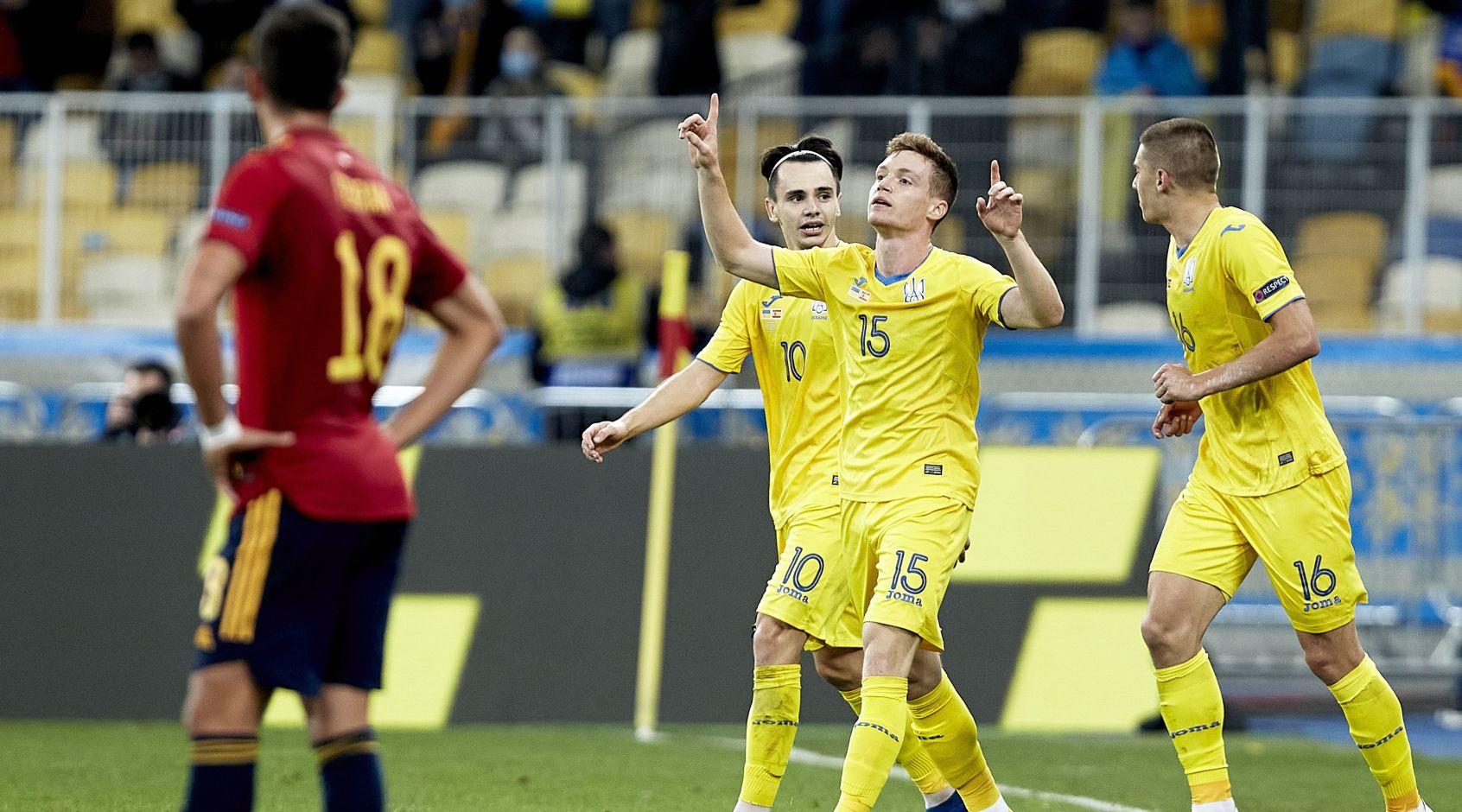 Украина — Испания: обзор матча 13.10.2020 и видео голов ᐉ FootBoom