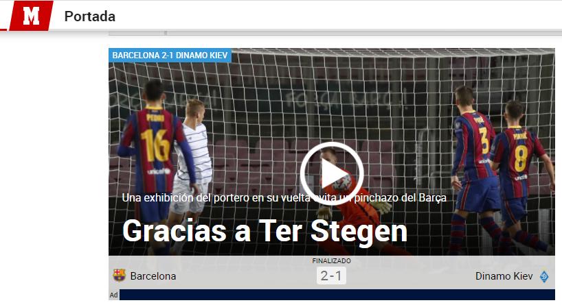 Barselona Dinamo Obzor Ispanskih Smi Footboom