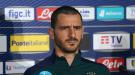 Леонардо Бонуччи покинул расположение сборной Италии из-за сильной боли в мышцах