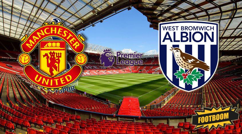 Манчестер Юнайтед -  Вест Бромвич Альбион: где и когда смотреть матч онлайн