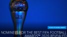 ФИФА назвала претендентов на награду лучшему тренеру года - The Best 2020