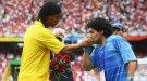 """Роналдиньо: """"Диего, ты вдохновлял меня всю мою карьеру!"""""""