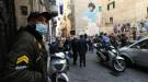 В столкновениях с полицией во время церемонии прощания с Марадоной пострадали болельщики