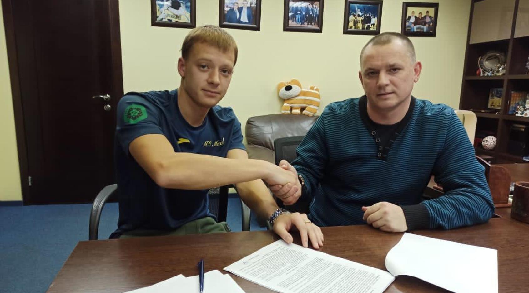 """Евгений Подлепенец перешел в """"Металл"""""""