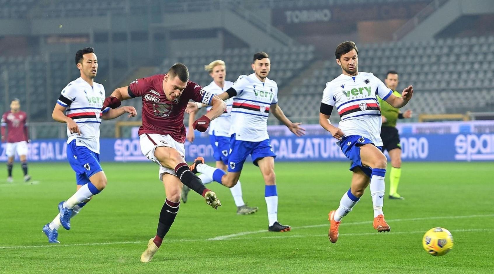 """Чемпионат Италии. 9-й тур. За год """"Торино"""" вёл в счёте в 22 матчах из 33. Выиграл семь"""