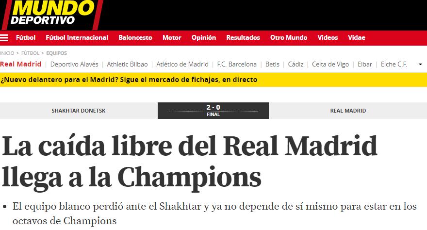 """Шахтер"" - ""Реал"": обзор испанских СМИ - изображение 3"