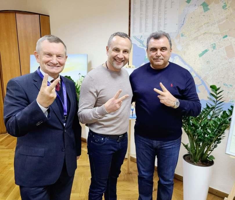 Вадим Євтушенко прибув у Херсон, де зустрівся з міським головою